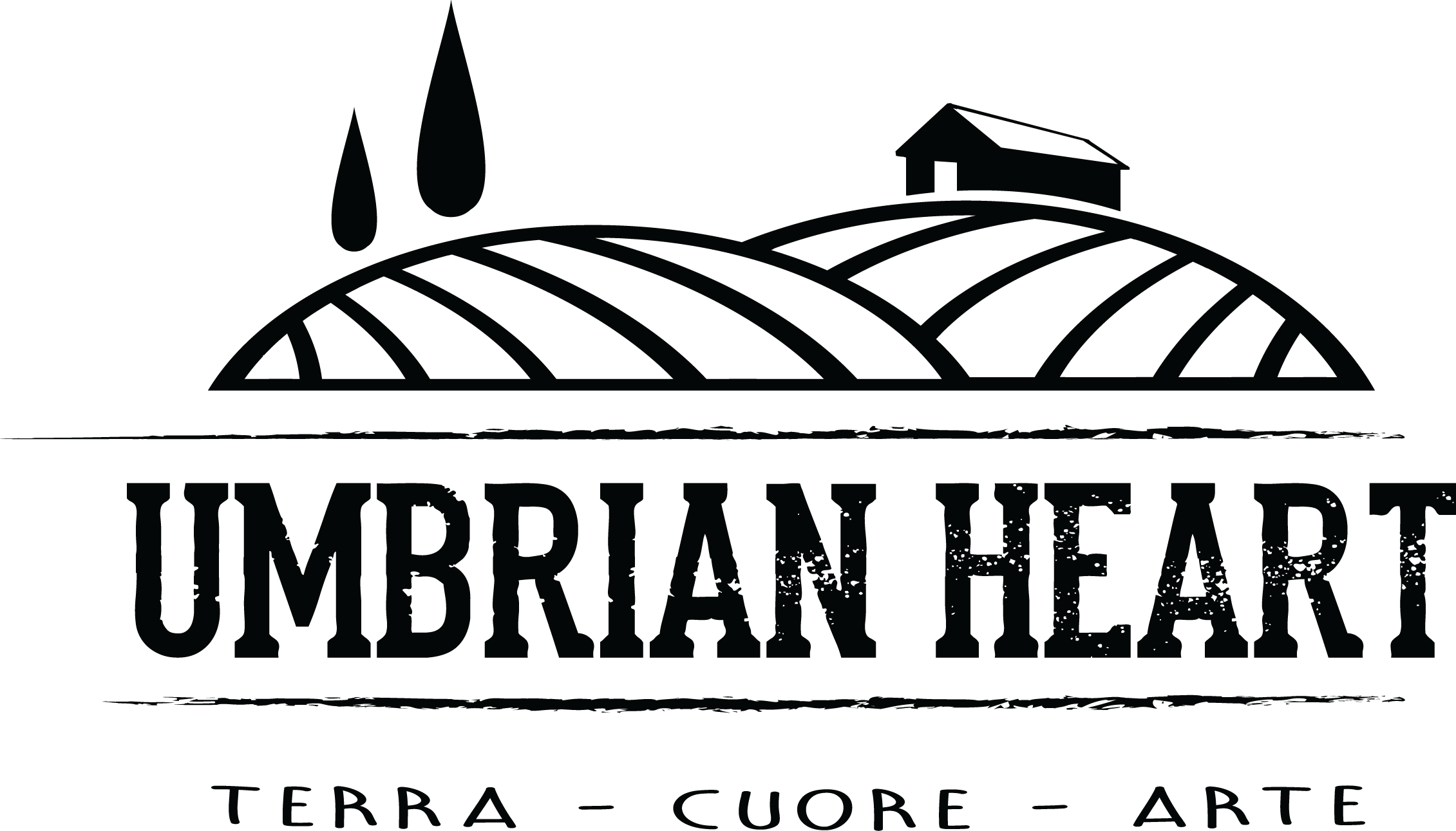 logo umbrian heart